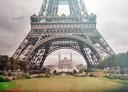La Tour Eiffel. Photo from Paris 1914: http://www.paris1914.com/2012/07/tour-eiffel.html
