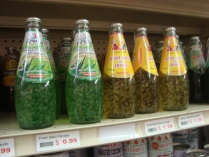 The mystical pandan beverage, discovered in a grocery store in SF