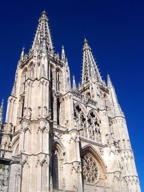 Burgos is well-known for its cathedral
