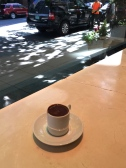 Excellent sipping chocolate at Cacao downtown
