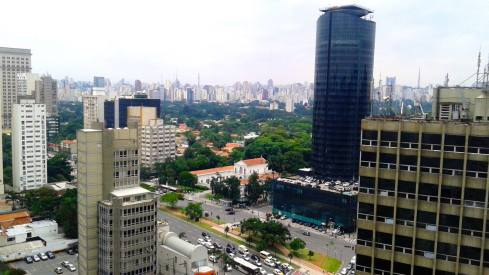 Waking up in Sao Paolo
